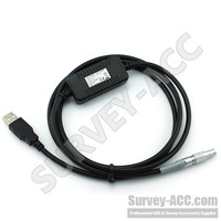 Original GEV189, Data transfer cable, Lemo to USB connector (incl. USB electronics), 2.0m