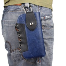 OEEKOI Rhino Pattern Belt Clip Sport Mountaineering Bag Pouch Case for myPhone Q-Smart III Plus