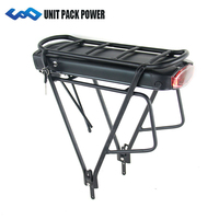 Rear Rack Electric Bike Batteries 36v 13ah Ebike Lithium ion Battery with Samsung Cell for 36V 500W 350W Motor