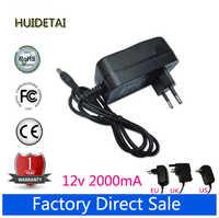 Adaptador de corriente de 12V, 2a, CA, CC, cargador de pared para portátil Teclast F15 de 15,6 pulgadas
