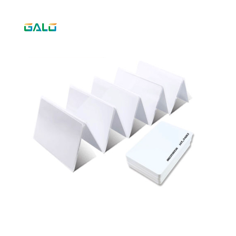 100pcs RFID Card TK4100 125 KHZ RFID Card EM Thick ID Card Suitable For Access Control And Attendance Cards