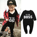 2016 Baby Clothes Pajamas Newborn Baby Rompers Infant cotton Long Sleeve Jumpsuits Boys Girl Spring Autumn bebes Clothes Wear