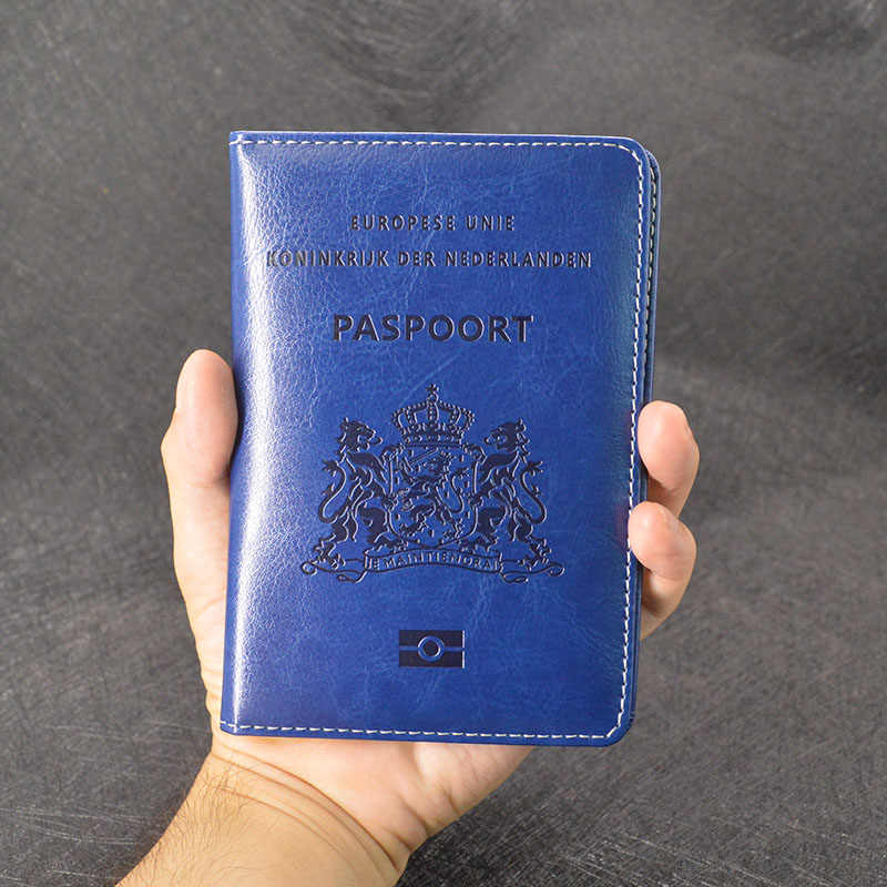 f59cc5254ce7 New Holland Passport Cover Travel Pu Leather Women Paspoorthoesje Case for  Passport Protective Holder Customised Nederland