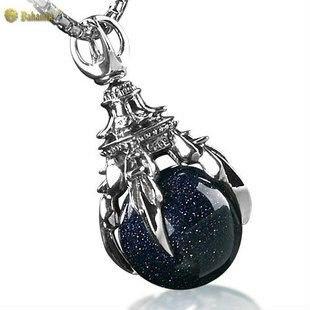 925 pendentif en argent Sterling avec pendentif en forme de griffe de Talon de Dragon gratuit avec chaîne bijoux pour hommes livraison gratuite