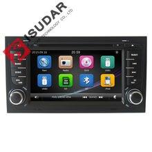 Оптовые! 2 Din 7 Дюймов Автомобиля Dvd-плеер Для Audi/A4 2002-2008 Canbus Радио Gps-навигация Бесплатные Карты FM 3 Г USB Host Ipod