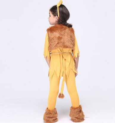 kids lion costumes for girls halloween lion costume cute animal costumes for children halloween clothes-in Girls Costumes from Novelty u0026 Special Use on ...  sc 1 st  AliExpress.com & kids lion costumes for girls halloween lion costume cute animal ...