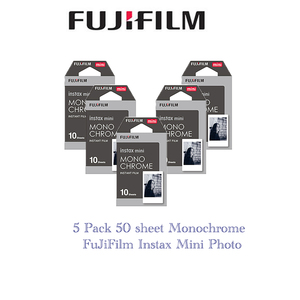 Image 1 - 5 חבילות Fujifilm Instax מיני סרט מונוכרום עבור מיני 8 7s 7 10 20 30 50s 50i 90 25 dw לשתף SP 1 מיידי נייר צילום