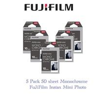 5 packs Fujifilm Instax Mini Film Monochrome For Mini 8 7s 7 10 20 30 50s 50i 90 25 dw Share SP 1 Instant Paper Photo
