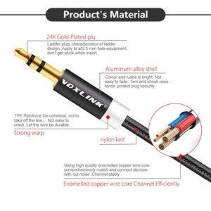 Image 3 - VOXLINK 5Pack 3ft/1m 3,5mm Jack Audio Kabel für iPhone 6 6s 3,5mm AUX hilfs Kabel Stecker stecker Audio Kabel Für AUTO MP3 jack