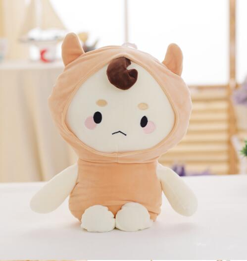 80cm buckwheat plush toys Korean TV Software big dolls alone and brilliant ghosts and ghosts Kong Yu best gifts yun buckwheat