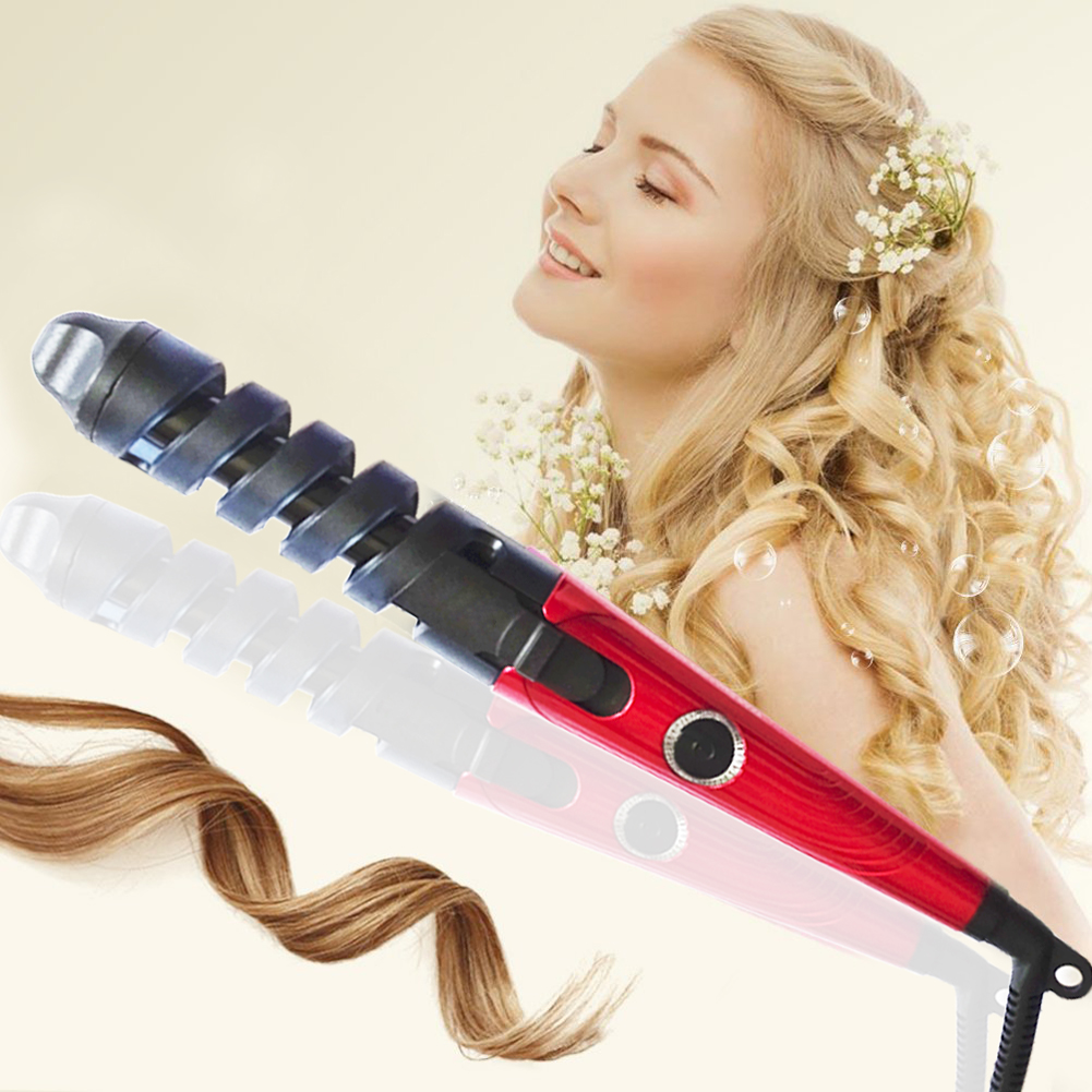 Professional Hair Curler Magic Spiral Curling Iron Fast Heating Curling Wand Electric Hair Styler Styling Tool Rizador De Pelo