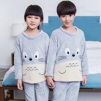 Kids Pajama Sets For 2017 Summer Short Sleeved Baby Clothing Cartoon Boys Girls Sleepwear Cute Children