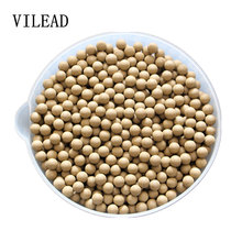 VILEAD 10MM 100 Pieces Safety Clay Mud Ball ColorStay Catapult Elastic Slingshot Bead Beans Multifunction