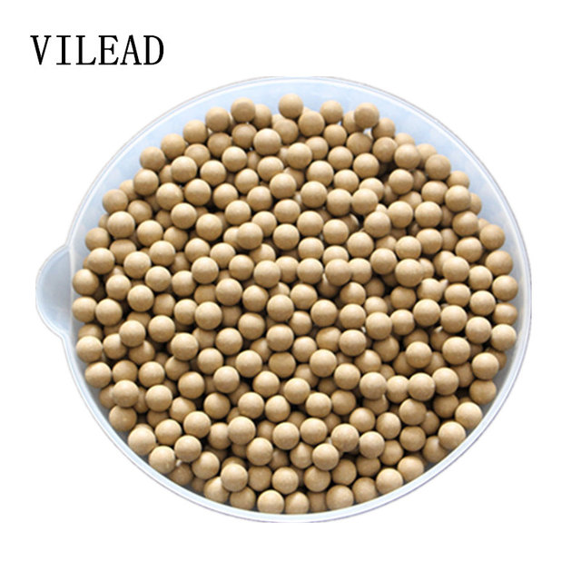 67624fa71dd9 VILEAD 10MM 100 Pieces Safety Clay Mud Ball ColorStay Catapult Mud Ball Mud  Elastic Slingshot Clay Bead Mud Beans Multifunction