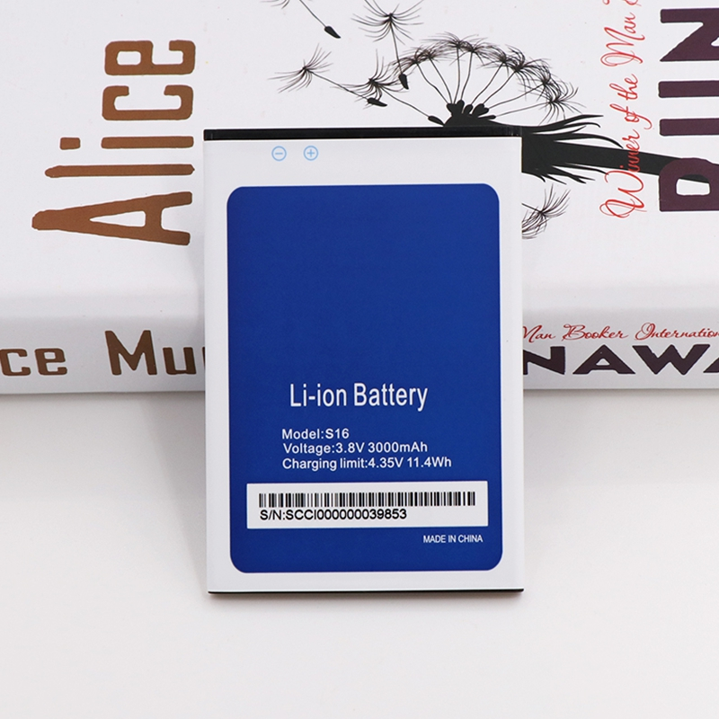 Rush Sale Limited Stock Retail 3000mAh New Replacement <font><b>Battery</b></font> For <font><b>Homtom</b></font> <font><b>S16</b></font> High Quality image