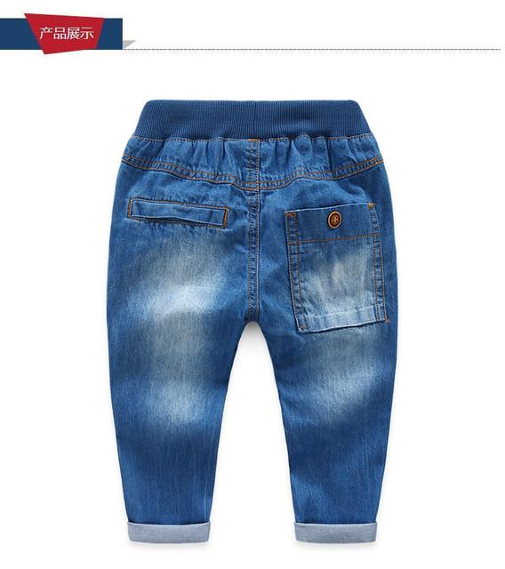 Calças meninos crianças calças de brim para meninas adolescentes calças de lazer calças de brim das crianças 2-7Y roupas adolescente