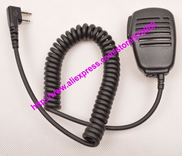 Remote shoulder Speaker Microphone For ICOM IC- V8 V80E V82 V85 F4002 F4003 F4010 Portable Two Way Handheld Radio Walkie Talkie