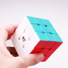 QIYI warrior w cube 3x3x3 professional speed magic sail puzzle Neo cubo magico stickerless for children