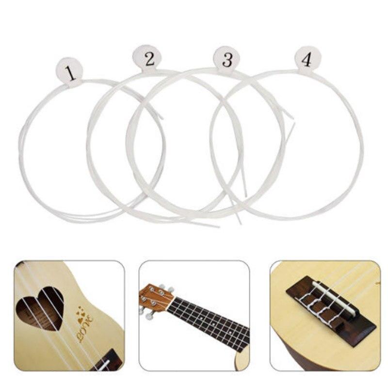 5Set/lot Regular GCEA Tuning Nylon Soprano Ukulele Strings For Soprano Concert Tenor 21''/23''/26''