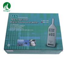 A C Z częstotliwości ważonej Micro USB poziom dźwięku miernik TES-1151 DC AC poziom hałasu Tester tanie tanio 30 ~ 130dB cnlandtek
