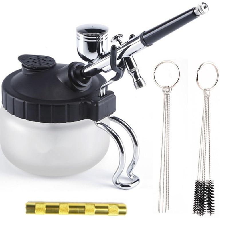 Christmas Sales ABEST Airbrush Cleaning Pot Stabilizer Glass Jar Bottles Holder