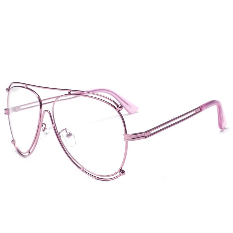 d7565adde56e8c Italië Hollow Designer politie zonnebril Piloot Zonnebril 2017 Brillen  Vrouwen Bril Clear Optische Spektakel Eyewear Frames in Italië Hollow  Designer ...