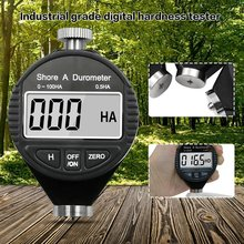 Durometer Hardness-Tester Shore Digital for Plastic Rubber Multi-Resin 0-100H A/C