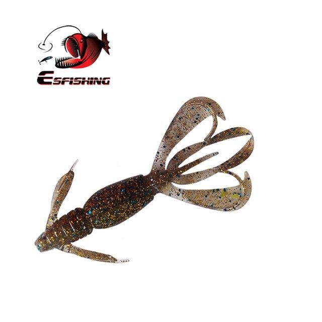 Esfishing Fishing Lures Soft Big Pesca Silicone Bait Crazy Flapper 11cm 11.5g  5pcs Carp Fishing  Wobblers For Fishing 3