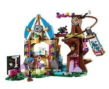 10501 Elvendale Dragon's School brick 41173 Building Blocks Friends Elves Buildable Educational toys Compatible with Lego