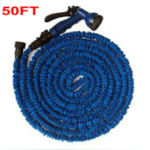 3 Times Expandable Garden Hose Pipe Of US Standard, 50FT/16.6M Garden Hose (As Seen On TV ) + 7 Forms Spray Gun