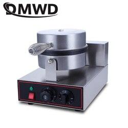 DMWD komercyjne elektryczne kształt serca gofrownica formy non-stick jajka piec do pieczenia Muffin maszyna do pieczenia Pan kraty Sandwich żelaza
