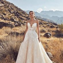 WALK BESIDE YOU Wedding Dress 2019 V-neck Bridal Gown