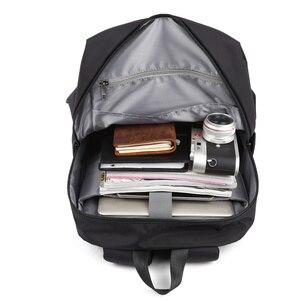 Image 5 - MOYYI سليم محمول على ظهره الرجال مكتب العمل الرجال حقائب الظهر حقيبة أعمال الأسود سوبر الجودة أكسفورد المضادة للتجاعيد أكياس