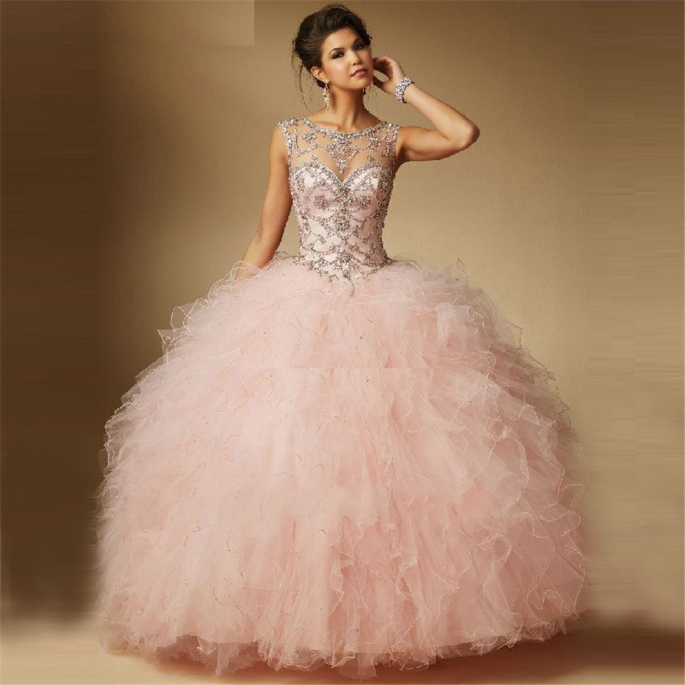 Aliexpress.com : Buy Women\'s Quinceanera Dress Vestido de 15 anos ...