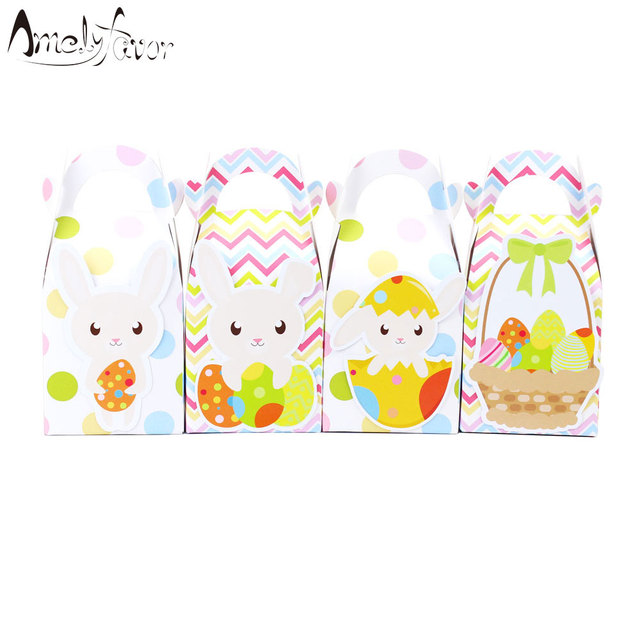 Easter bunny favor box candy box gift box cupcake box boy kids easter bunny favor box candy box gift box cupcake box boy kids birthday party supplies decoration negle Gallery