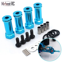 30mm extension 12mm hexagonal hub drive adapter combination coupler For WLtoys 12428 fy-03 JJRC Q39 1/12 RC cars upgrade parts