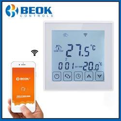 Beok пульт дистанционного управления TDS23WIFI-EP термостат с большим сенсорным экраном дисплей электрический регулятор температуры