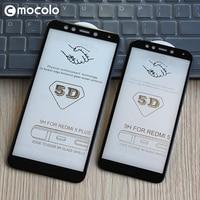 Voor Xiaomi Redmi 5 Screen Protector Mocolo Redmi 5 Volledige Cover 9H 5D Gehard Glas Film Voor Xiaomi Redmi 5 Plus Screen Protector