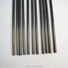 12 pcs Spine 400 carbon arrow shaft I.D.4.2mm for hunting shooting archery arrows DIY