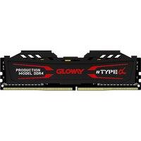 Nouvelle arrivée Gloway TYPE une série noir et blanc radiateur ram ddr4 4 gb 8g 2400 mhz pour le bureau avec haute performance
