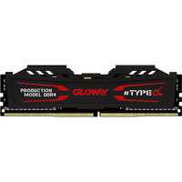 new arrival Gloway TYPE a series black and white heatsink ram ddr4 4gb 8G 2400MHZ for desktop with high performance