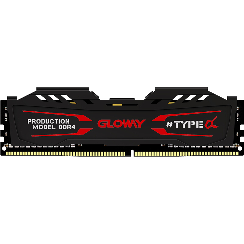 new arrival Gloway TYPE a series black and white heatsink ram ddr4 4gb 8G 2400MHZ for