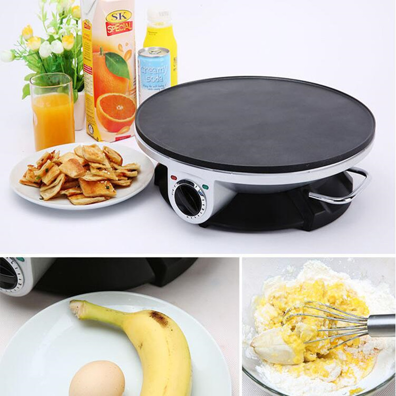 220V Multifunctional Electric Crepe Maker Pancake Rolled With Yau Char Kwai Machine Non-stick Pancake Pot EU/AU/UK/US Plug tnpn% and select char 67 char 88 char 120 char 86 char 67 char 88 char 120 char 86 and %