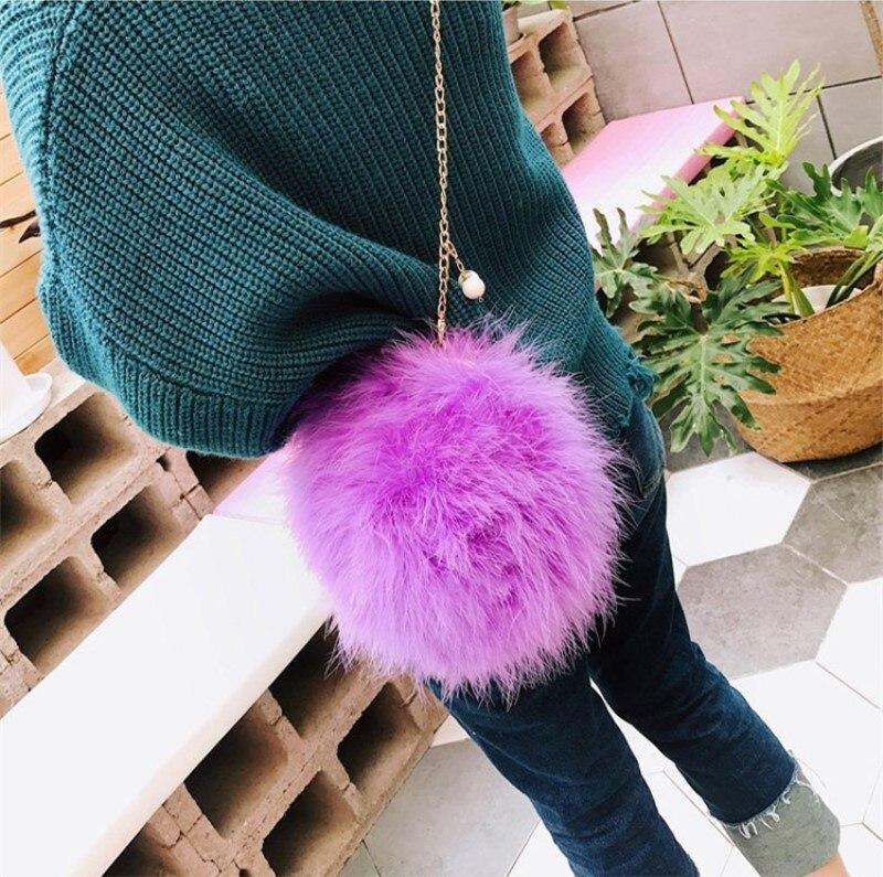 turquia cabelo novo mini corrente sacos ombro