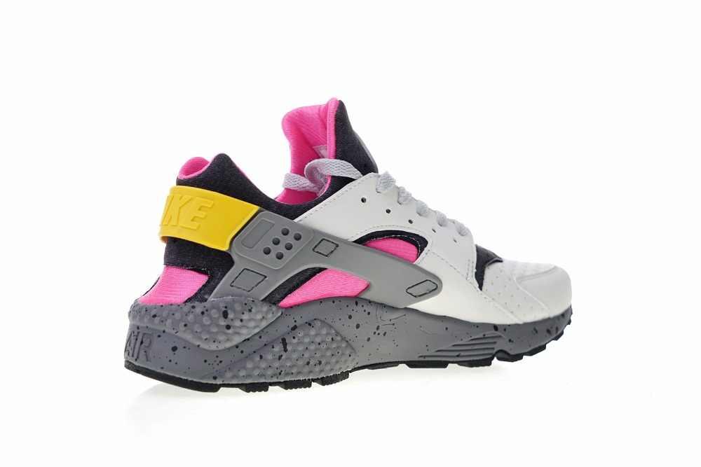 832f73d769ecd ... New Arrival Original Nike Air Huarache Run Premium Men s Sneaker Running  Shoes