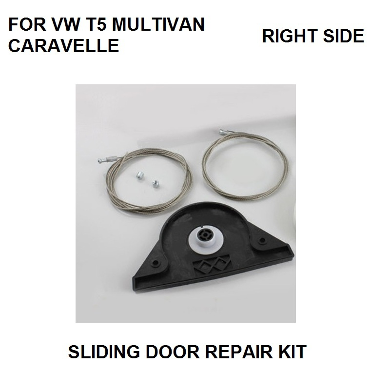 CAR STYLING FOR VW T5 MULTIVAN CARAVELLE ELECTRIC SLIDING DOOR REPAIR KIT RIGHT SIDE ONWARDS 2003-in Window Lever & Window Winding Handles from Automobiles & Motorcycles    1