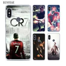 BINYEAE cr7 cristiano ronaldo Soft TPU Transparent Case Cover for Xiaomi Mi  Redmi Note A1 A2 245e20c954b0