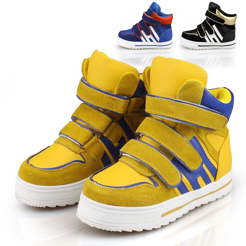 boy fashion neon shoes 2013 child baby toddler shoes sport ...