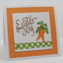 Word Easter Joy Metal Cutting Dies Stencils DIY Scrapbooking Album  Paper Cards Craft Decoration Embossing