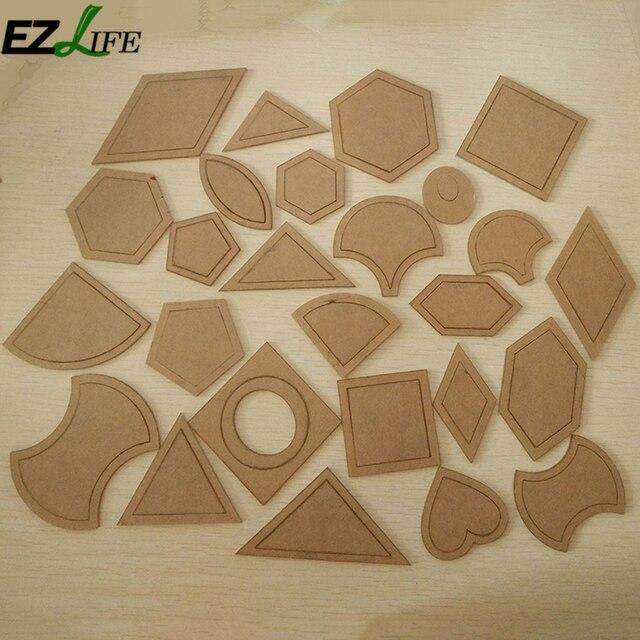 54 teile/satz Kraftpapier Schnittmuster Vorlage DIY Bekleidung Craft ...